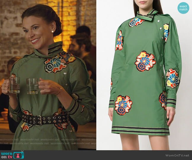 Printed Shift Dress by Philosophy Di Lorenzo Serafini worn by Liza Miller (Sutton Foster) on Younger