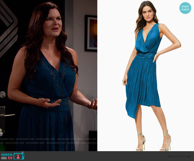 Ramy Brook April Dress worn by Katie Logan (Heather Tom) on The Bold & the Beautiful