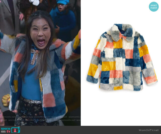 Abbie Jacket by Stella McCartney Kids worn by Dixie Sinclair (Irene Choi) on Insatiable