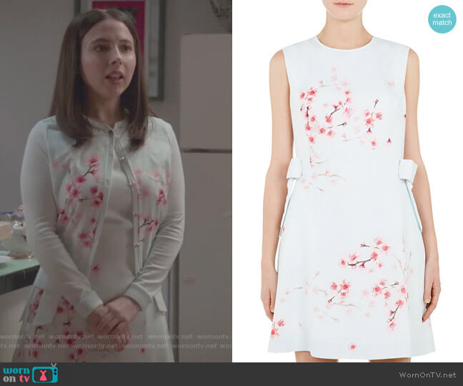 Seella Blossom Tunic Dress by Ted Baker worn by Esther Povitsky (Esther Povitsky) on Alone Together