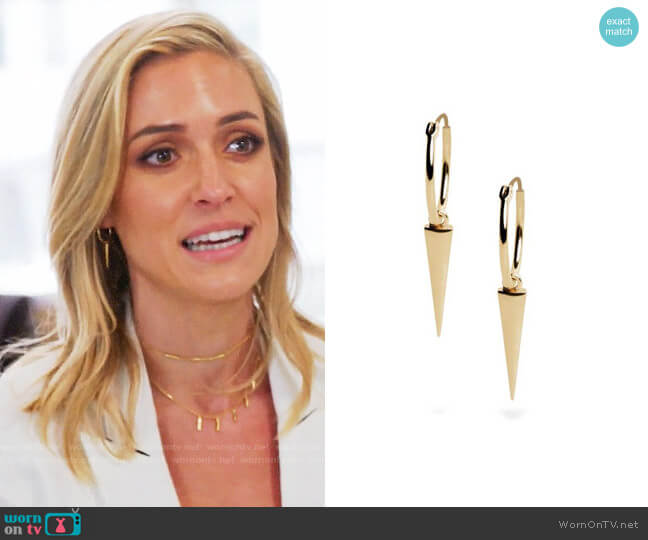 Uncommon James Sharp Shooter Earrings worn by Kristin Cavallari (Kristin Cavallari) on Very Cavallari