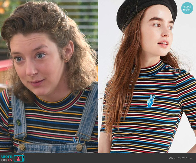 Zola Top by Urban Outfitters worn by Kimmy Shields on Insatiable