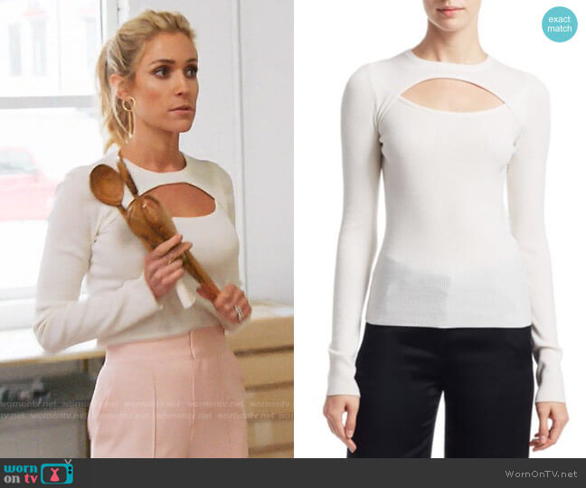 ALC Nell Sweater worn by Kristin Cavallari  on Very Cavallari