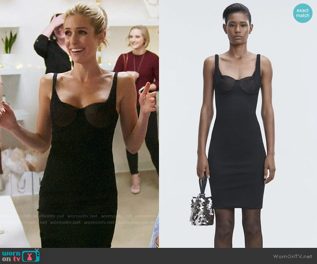 Alexander Wang Ruched Bodycon Dress worn by Kristin Cavallari on Very Cavallari