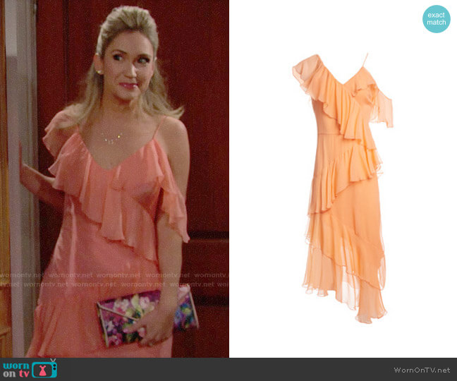 Alice + Olivia Olympia Dress worn by Bridget on The Bold and the Beautiful