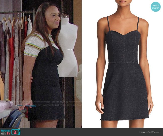 Bailey 44 Do Your Thing Dress worn by Emma Barber (Nia Sioux) on The Bold & the Beautiful