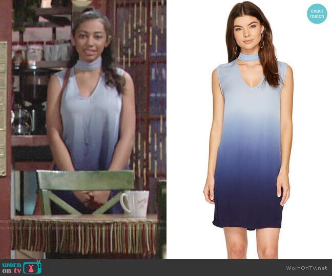 BB Dakota Jill Ombre Dress worn by Shauna (Camryn Hamm) on The Young & the Restless