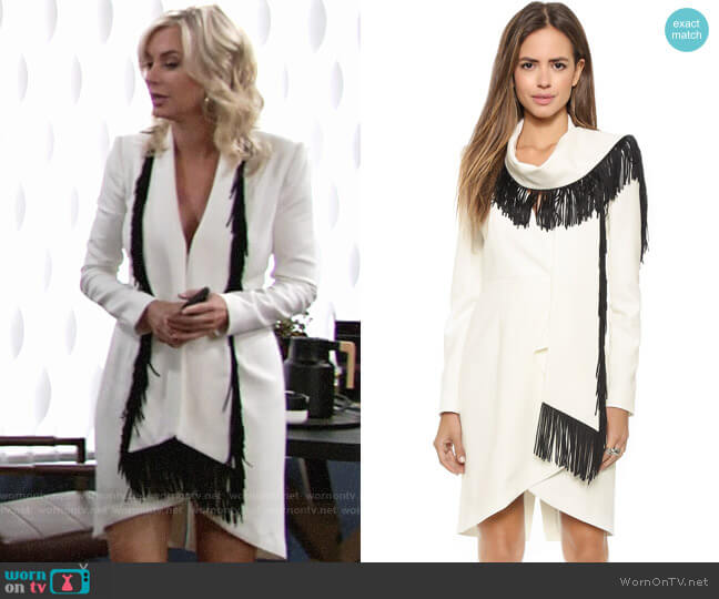 Bcbgmaxazria Paola Dress worn by Eileen Davidson on The Young & the Restless