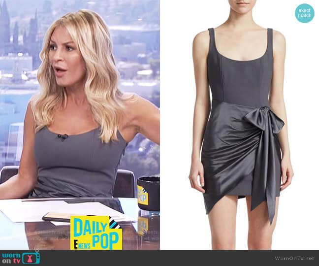 Waverly Dress by Cinq a Sept worn by Morgan Stewart on E! News