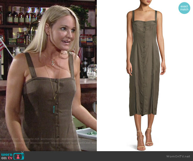 Cinq a Sept Alexa Dress worn by Sharon Case on The Young & the Restless