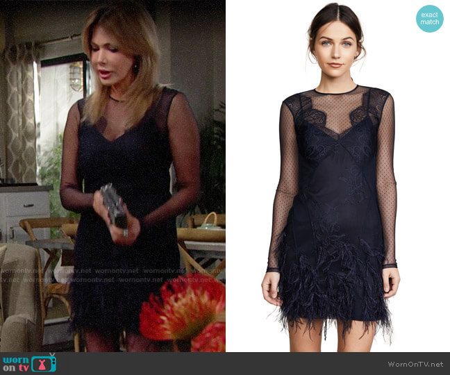 Cinq a Sept Amabella Dress worn by Taylor on The Bold and the Beautiful