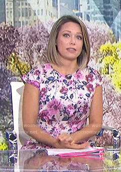 Dylan's floral midi dress on Today