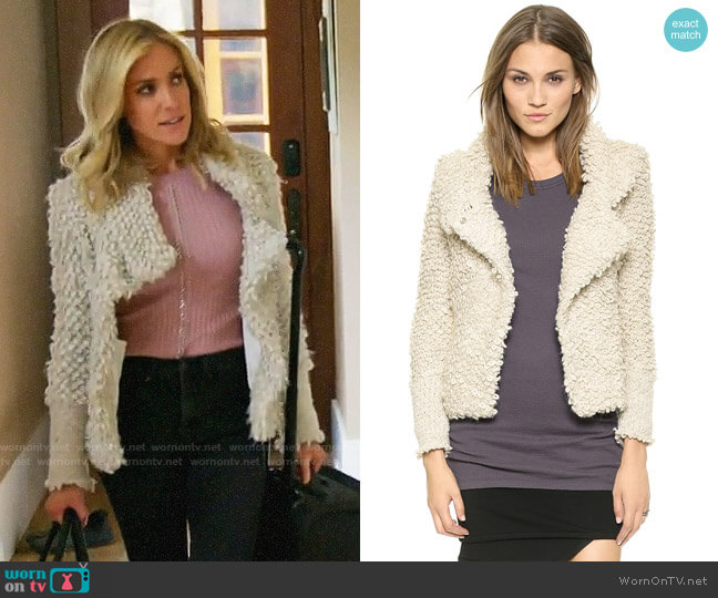 IRO Caty Jacket worn by Kristin Cavallari on Very Cavallari
