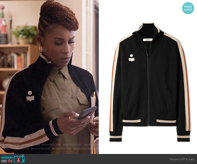 Isabel Marant Etoile Darcy Jacket worn by Issa Rae on Insecure