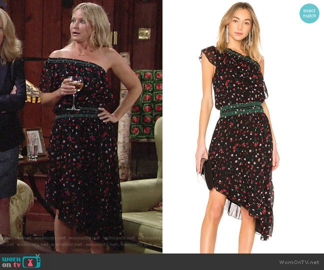 Joie Hafsa Dress worn by Sharon Collins (Sharon Case) on The Young & the Restless
