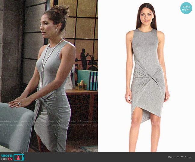 Likely Knighton Dress worn by Christel Khalil on The Young & the Restless