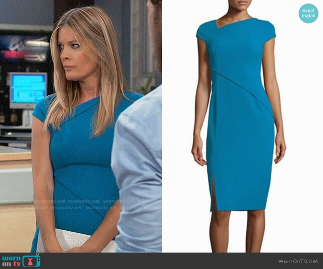 LK Bennett Dr. Sissi Core Dress worn by Michelle Stafford on General Hospital