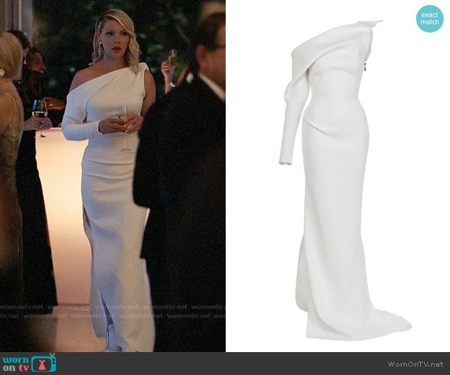 Maticevski Mystery Gown worn by Katherine Heigl on Suits