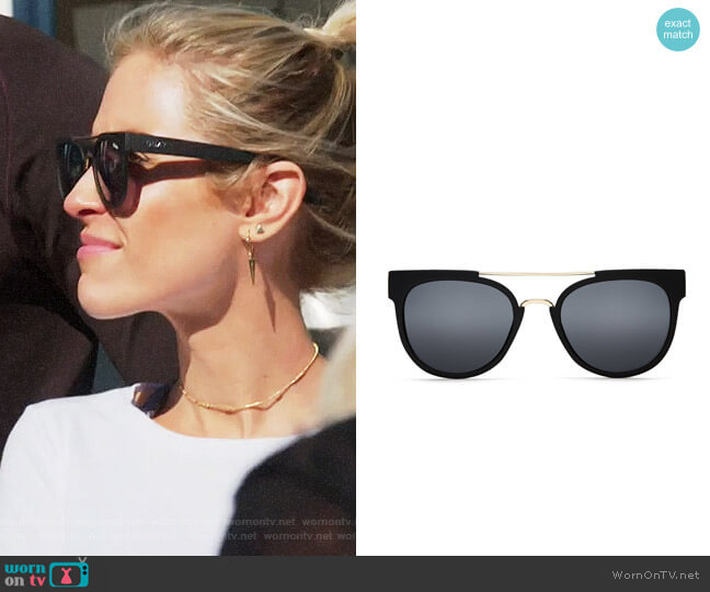Quay Australia Odin Sunglasses worn by Kristin Cavallari  on Very Cavallari