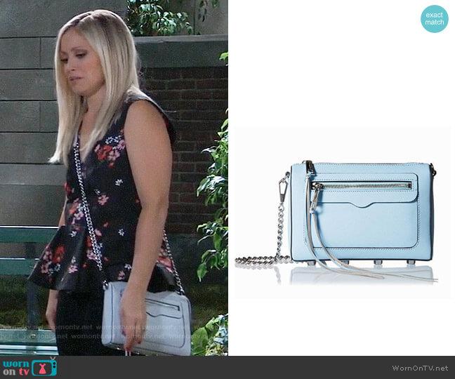 Rebecca Minkoff Avery Bag worn by Emme Rylan on General Hospital