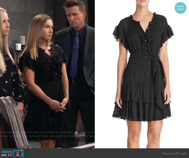 Rebecca Taylor Dree Dress worn by Lexi Ainsworth on General Hospital