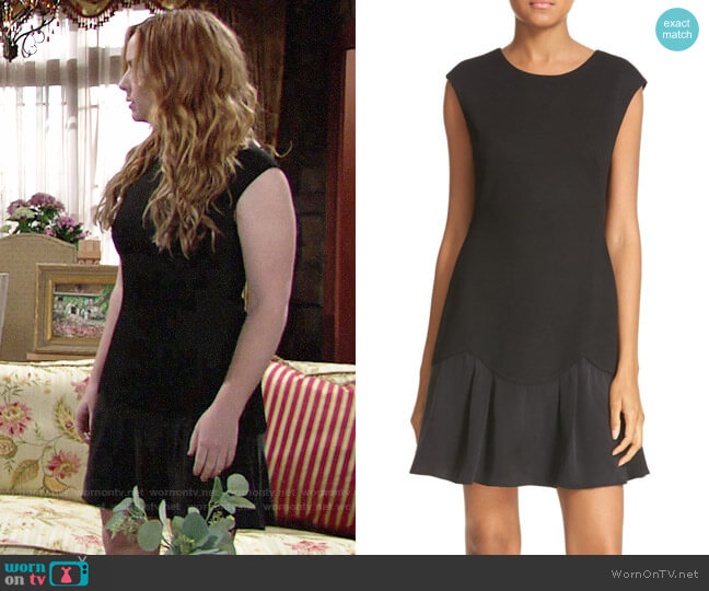 Rebecca Taylor Stacy Dress worn by Mariah Copeland (Camryn Grimes) on The Young & the Restless
