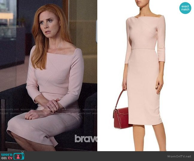 Roland Mouret Witham Dress worn by Donna Paulsen (Sarah Rafferty) on Suits