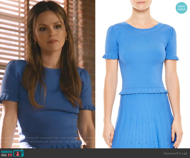 Quincy Sweater by Sandro worn by Samantha Swift (Rachel Bilson) on Take Two
