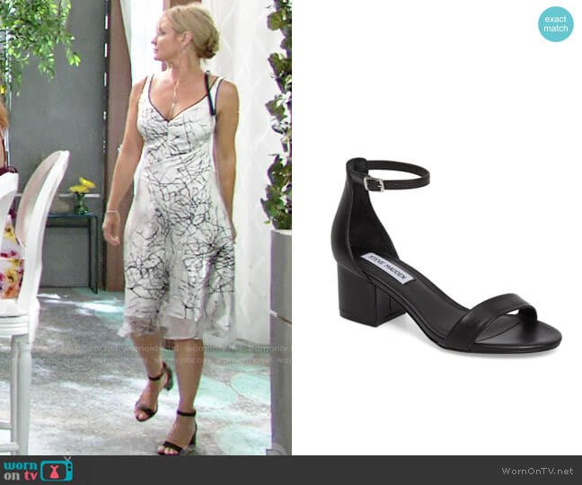 Steve Madden Irenee Sandals worn by Sharon Case on The Young & the Restless