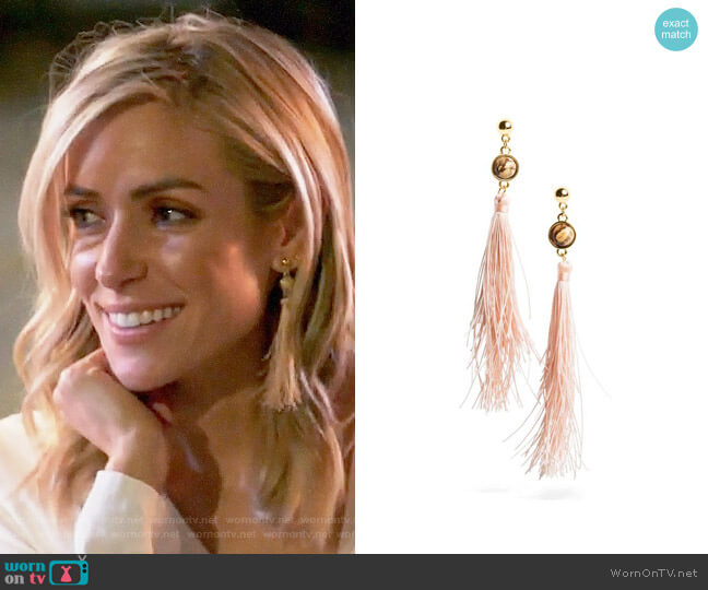Uncommon James Strawberry Fields Earrings worn by Kristin Cavallari  on Very Cavallari
