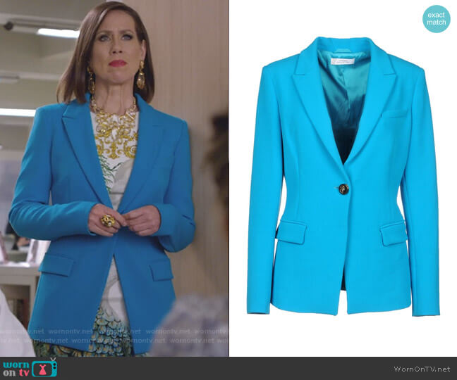 Single Breasted Blazer by Versace Collection worn by Diana Trout (Miriam Shor) on Younger