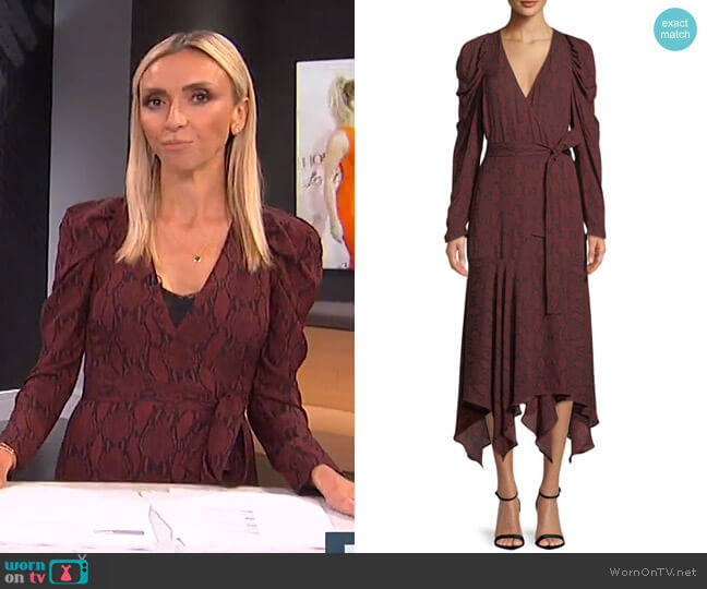 Tianna Dress by ALC worn by Giuliana Rancic on E! News