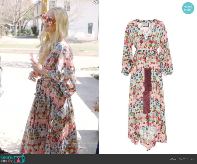 Deeta Dress by Alexis worn by Kameron Westcott  on The Real Housewives of Dallas