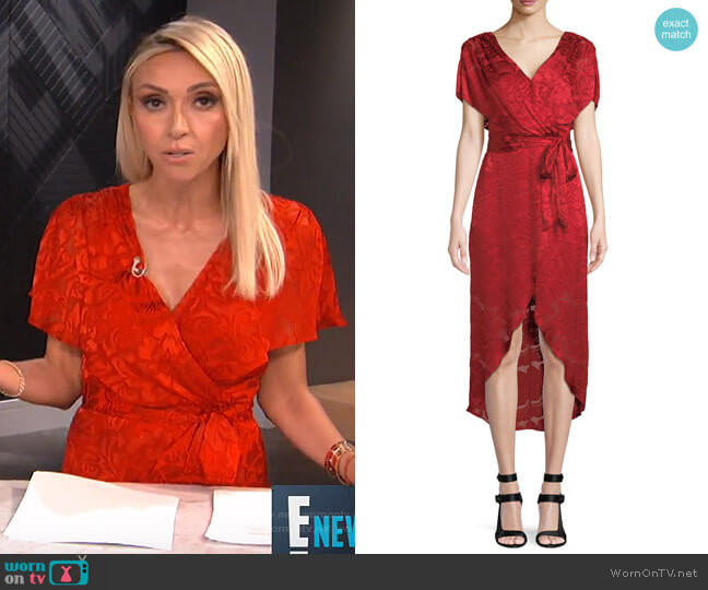 Darva Dress by Alice + Olivia worn by Giuliana Rancic  on E! News