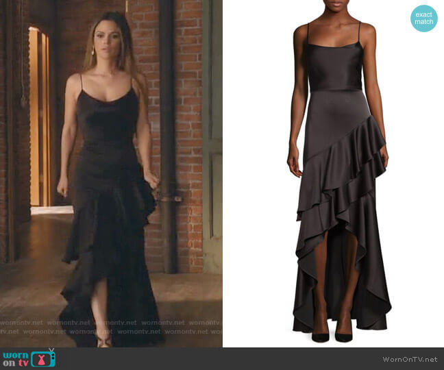 Lauralei Gown by Alice + Olivia worn by Rachel Bilson on Take Two