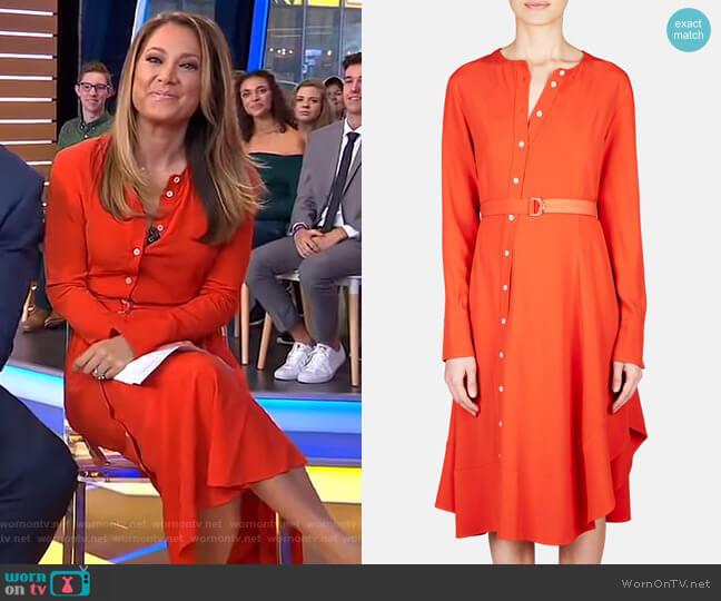 Baelle Dress by Altuzarra worn by Ginger Zee  on Good Morning America