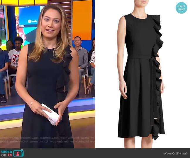 Lavinia Dress by Altuzarra worn by Ginger Zee on Good Morning America
