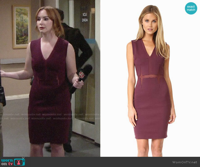 Bailey 44 Real Deal Dress worn by Mariah Copeland (Camryn Grimes) on The Young & the Restless