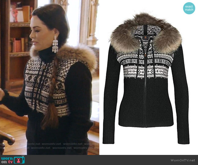 Naomi Sweater by Bogner Fire and Ice worn by D'Andra Simmons  on The Real Housewives of Dallas