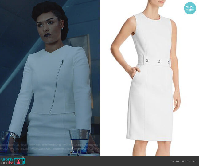 Duleama Dress by Boss worn by Reeva Payge (Grace Byers) on The Gifted