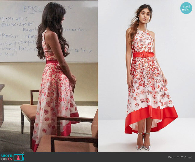 Coast Charron Organza Dress worn by Tahani Al-Jamil (Jameela Jamil) on The Good Place