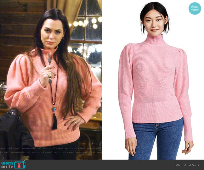 Voluminous Sweater by Frame worn by D'Andra Simmons on The Real Housewives of Dallas