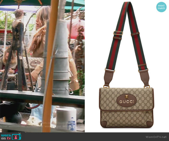 Neo Vintage Foldover Bag by Gucci worn by Kelly Dodd on The Real Housewives of Orange County