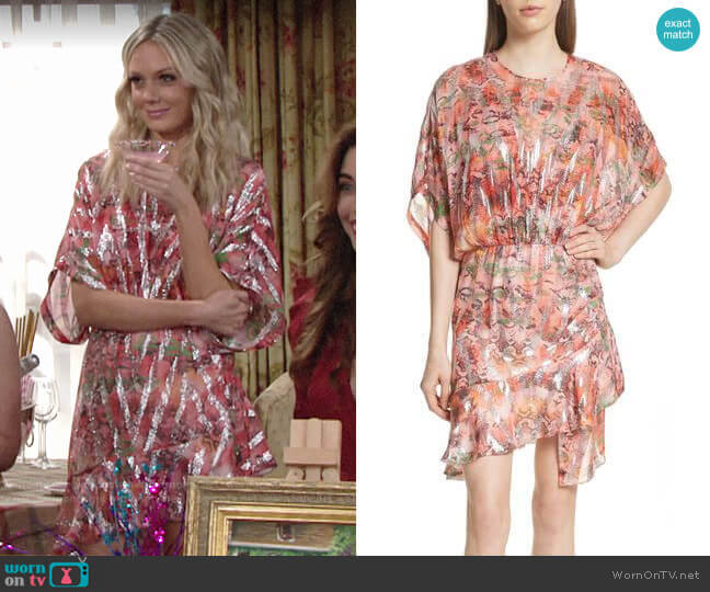 IRO Wobam Dress worn by Abby Newman (Melissa Ordway) on The Young & the Restless