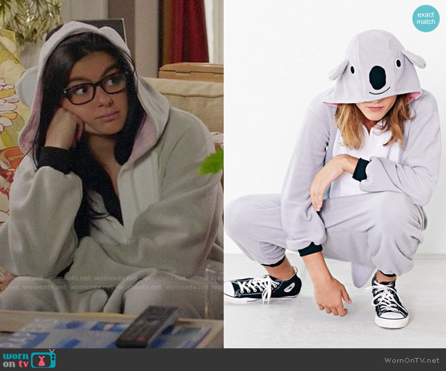 Kigurumi Koala Costume worn by Ariel Winter on Modern Family