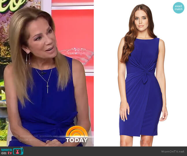 Twist-Front Jersey Dress by Lauren Ralph Lauren worn by Kathie Lee Gifford  on Today