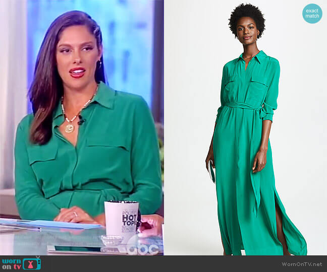 Cameron Shirtdress by L'Agence worn by Abby Huntsman (Abby Huntsman) on The View
