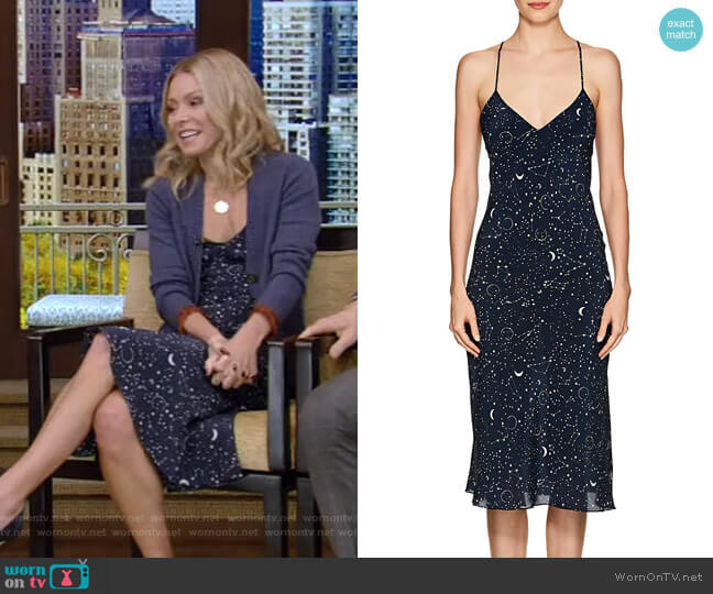 Luna Slip Dress by Gilda & Pearl worn by Kelly Ripa  on Live with Kelly & Ryan