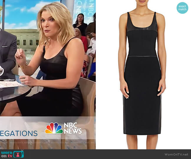Mixed-Media Sheath Dress by Narciso Rodriguez worn by Megyn Kelly  on Today
