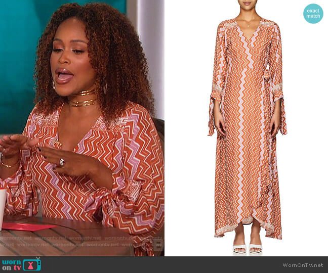 Danika Dress by Natalie Martin worn by Eve  on The Talk
